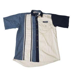 Wrangler Western Wear Retro Button Down Shirt M